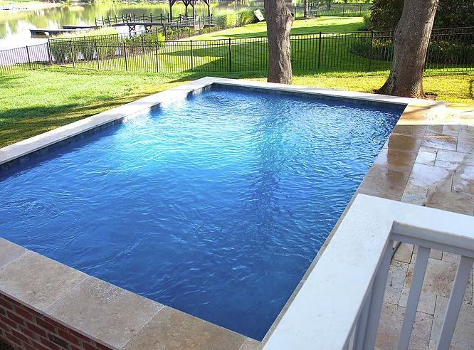 Custom Concrete Pool Construction in Denver NC by Carolina Pool Consultants 704-966-4444