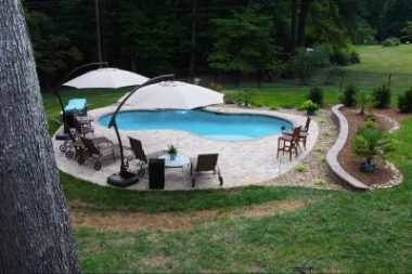Inground Concrete Swimming Pool Builders in Mooresville NC CPC Pools 704-966-4444
