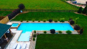 This Inground Concrete Pool could be in your Backyard.